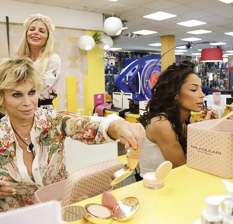 Naj Oleari Beauty sponsor makeup GF VIP